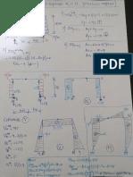 Porticos Simples Diagramas de axial. cortante y momento flector