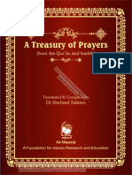 A Treasury of Prayers (From the Qur'Ān and Ḥadīth)