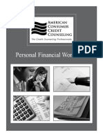 Personal Finance Worksheet Template