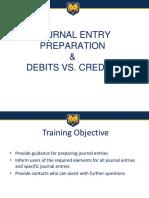 Journal Entry Prep Debits Credits