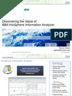 Benefits of InfoSphere Information Analyzer