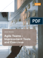 Agile Teams Improvement Tools and Exercises