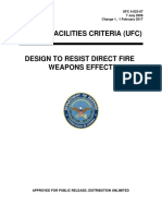 UNIFIED FACILITIES CRITERIA (UFC), DESIGN TO RESIST DIRECT FIRE WEAPONS EFFECTS