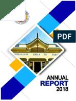 CY 2018 Annual Report of LGU-Canaman