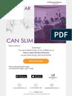 MarketSmith India Webinar-23july-2019