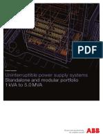 ABB UPS Brochure Overview En