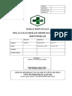 SK Pelayanan Rekam Medis Dan Metode Identifikasi Rev