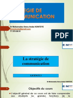 Cours Strategie de Communication Ensup Gpe Ad l3
