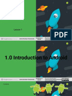 1.0 Introduction to Android.odp