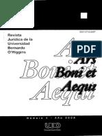 Revista de Derecho Universidad Bernardo o'higgins