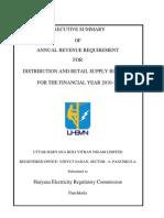 UHBVN Executive Summary FY 2010-11