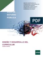 GUIA PARTE 1 Diseño Y Desarrollo Del Curriculum 1819