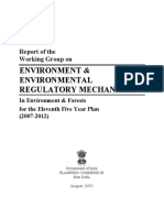 Environment regulatory mechanism