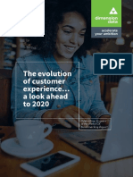 The Evolution of Customer Experience a Look Ahead to 2020