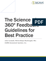 The Science of 360 degree Feedback