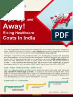 Healthcare Costs Raising in India