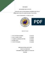 Mini Riset Manajemen Keuangan