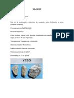 Informe de Materiales