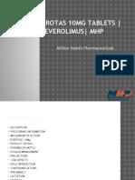 Everotas 10mg Tablets