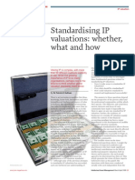 Standard is Ing IP Valuations