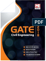 Gate 2018 Civil Engineering Solved Papers by B. Singh