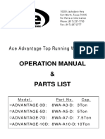 Manual- Ace Crane