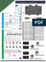 MAN T102_Diagrama Eletrônico_Painel de Instrumentos e Tacógrafo_Constellation