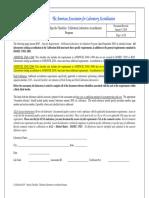 17025 Audit Check List