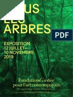 Exposition Nous Les Arbres à la Fondation Cartier