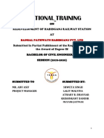 Bansal Training 1