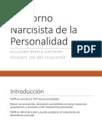 Seminario Trastorno Narcicista de La Personalidad
