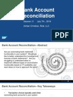 160707 Bank Account Reconciliation