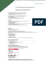Fuji HS10_11 Firmware Update