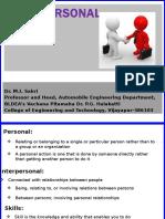 Interpersonal Skills MIS