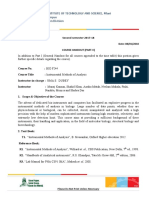 Bio f244 Instrumental Methods of Analysis1
