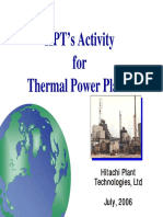 Actividad para plantas térmicas