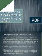 kahalagahanngkomunikasyonsapagpapatatagngpamilya-160712093719(1)
