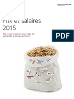 Prix Et Salaires en 2015