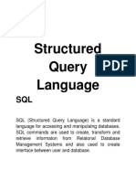 Structured query