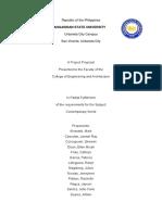 Project Proposal Contempo