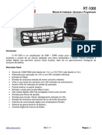 Baixa - Manual - RT1000 - Português - R1.7