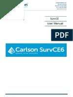 SurvCE 6.0 User Manual