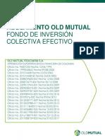 Reglamento Old Mutual Fondo de Inversion Colectiva Efectivo
