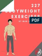 227 Bodyweight Exercises PDF