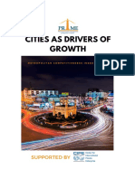 Cities as drivers of Growth