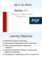 1.1 Mathematical Reasoning