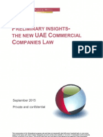 UAE's New Commercial Companies Law-Insights