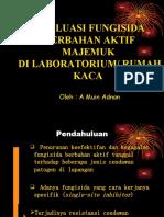 Uji Lab Fungisida