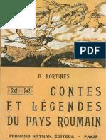 Nortines B. - Contes Et Légendes Du Pays Roumain