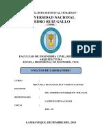 ENSAYO DE COMPRESION NO CONFINADA